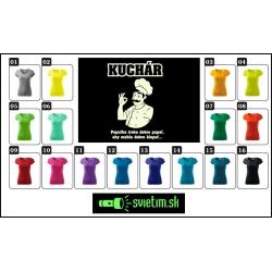 farebné dámske vtipné svietiace tričká pre kuchárky, srandovný darček kuchárka