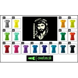 farebné dámske retro tričká Sandokan so svietiacou fosforovou potlačou, nostalgický darček so sandokanom