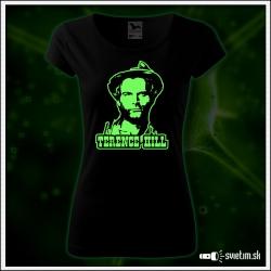 damske retro svietiace tričko Terence Hill nostalgický darček Spaghetty western