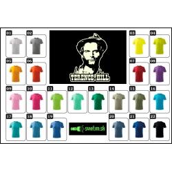 farebné detské  retro tričká svietiace Terence Hill, originálny darček pre deti s Terence Hillom