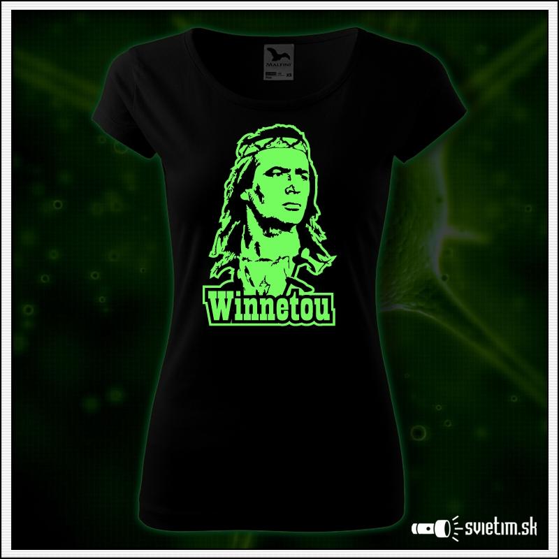 Dámske retro tričko Winnetou, nostalgia od Karl May
