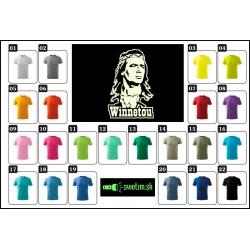 Farebné detské tričká s potlačou Winnetou darček pre deti.