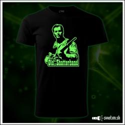 Pánske retro tričko Old Shatterhand z filmu Winnetou retro svietiace tričká