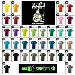 farebné rybárske vtipné tričká svietiaca potlač, humorný darček pre rybárov
