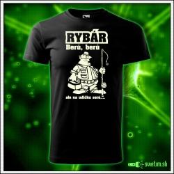 vtipné svietiace tričko pre rybára vtipné darčeky pre rybárov