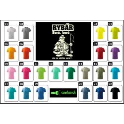 farebné detské vtipné tričká Rybolov humorný darček pre detských rybárov