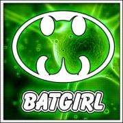 Vtipné svietiace tričko Batgirl humorný darček k narodeninám