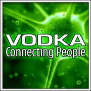 Vtipné svietiace tričko Vodka ako humorný darček pre oslávenca
