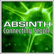 Vtipné svietiace tričko Absinth ako humorný darček pre oslávenca