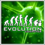 Vtipné svietiace tričká Evolution Computer, vtipné športové tričká