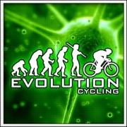Vtipné svietiace tričká Evolution Cycling, vtipné cyklistické tričká