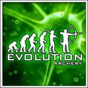Vtipné svietiace tričká Evolution Archery, vtipné lukostrelecké tričká