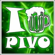 Vtipné svietiace pivné tričko i love pivo, humorný alkohol darček